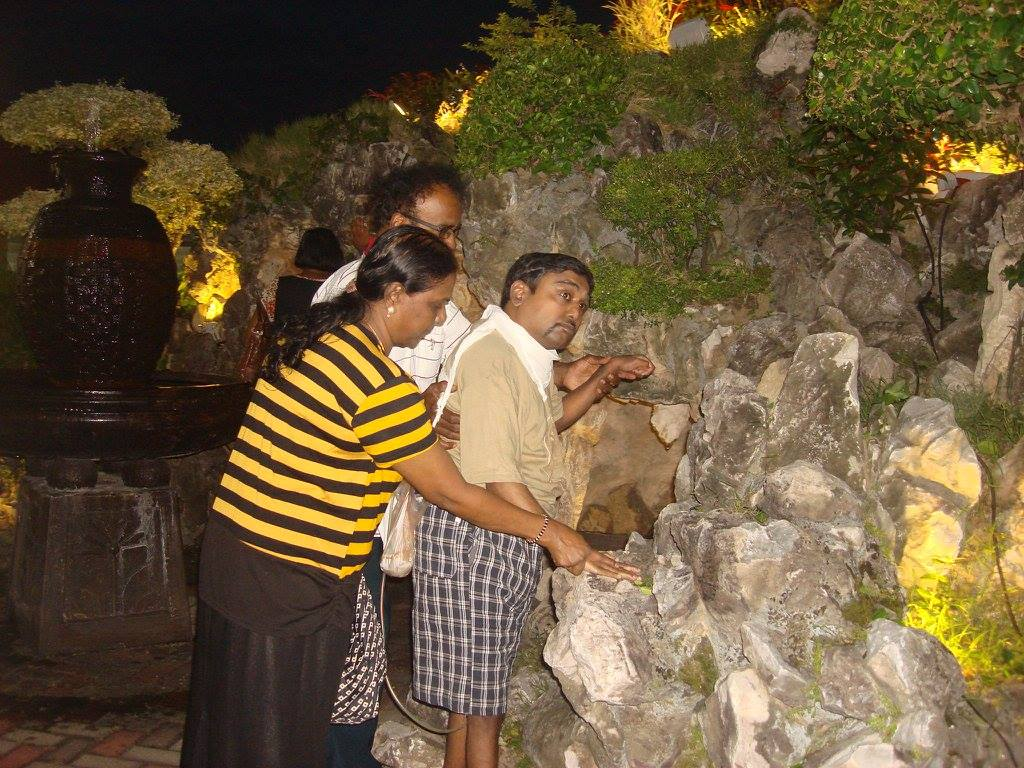 Lourdes Bath for Differently Abled 2016